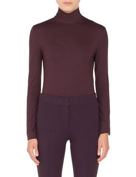 Stretch Modal Turtleneck by Akris Punto