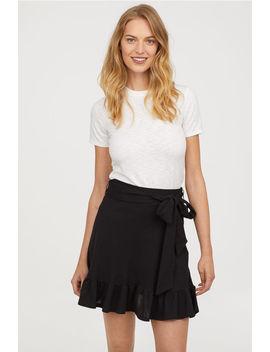 Spódnica Z Wiązaniem by H&M