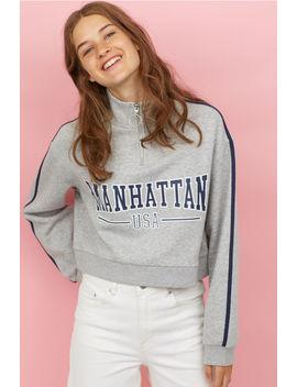 Sweater Met Opstaande Kraag by H&M
