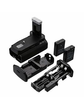 Powerextra Battery Grip + 2 × High Capacity 1500m Ah En El14 With Infrared Remote Control For Nikon D3100/D3200/D3300/D5300 Digital Slr Camera by Powerextra
