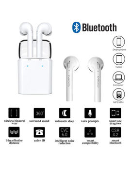Twins True Wireless Bluetooth Earphone Earbuds For Apple I Phone X 7 8 6 Plus Uk by Ebay Seller