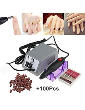 Electric Nail Drill Machine Nail File Drill Set Kit For Acrylic Nails, Gel Nail, Nail Art Polisher Sets Glazing Nail Drill Fast Manicure Pedicure By Buycitky by Buycitky