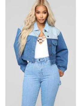 Best Friend Denim Jacket   Medium by Fashion Nova