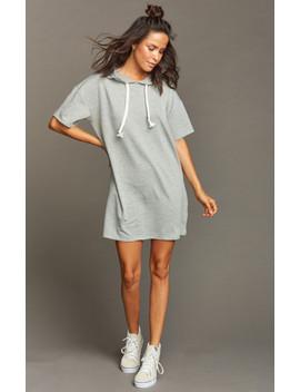 Starla Sweatshirt Dress ~ Heather Grey by Show Me Your Mu Mu