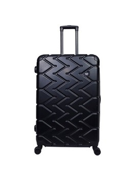 "Sharper Image 28"" Hardside Spinner Suitcase   Black by Shop All Sharper Image"
