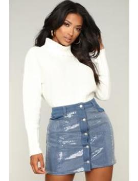 Comfy , Cozy Cropped Sweater   Ivory by Fashion Nova