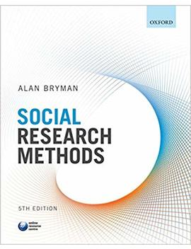 Social Research Methods by Alan Bryman