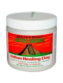 Aztec Secret Indian Healing Clay Bentonite Facial Deep Pore Clean 100 Percents Pure 1lb by Aztec Secret