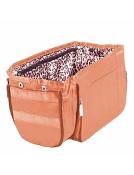 Pursfection Expandable Purse Organizer   Tan/Leopard by Pursfection