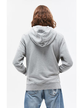 Heather Grey Pullover Hoodie by Richer Poorer