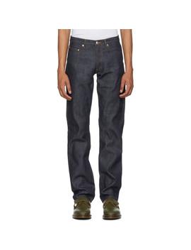 Indigo Raw New Standard Jeans by A.P.C.