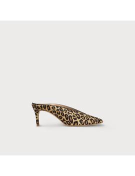 Celia Leopard Print Mules by L.K.Bennett