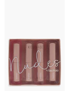 Boohoo 4 Pink Lustre Lipsticks by Boohoo