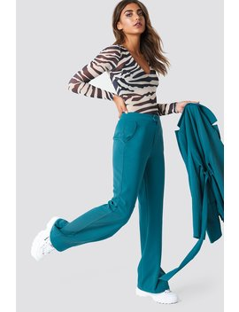 Wide Leg Tailored Pants by Na Kd