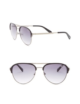 The Mac 53mm Aviator Sunglasses by Original Penguin