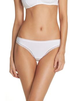 Cabana Cotton Blend Bikini by On Gossamer