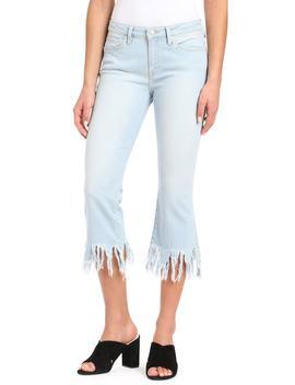 Anika Frayed Hem Cropped Jeans by Mavi Jeans