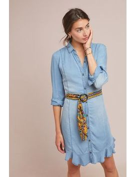 Pilcro Belted Chambray Shirtdress by Pilcro And The Letterpress