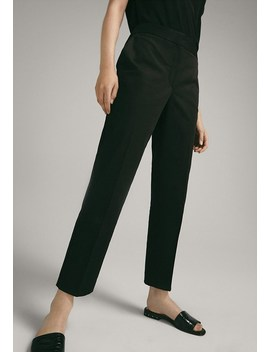 Slim Fit   Pantalon Classique by Massimo Dutti