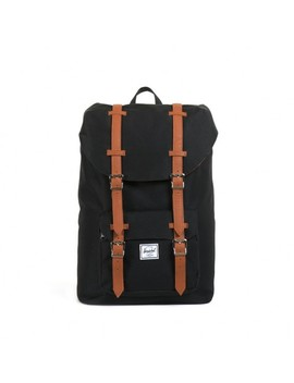 Herschel Supply Co. Little America Backpack Mid Volume Black  by Paperchase