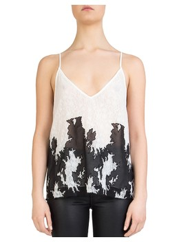 Mesh Inset Lace Cami by The Kooples