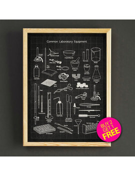 Laboratory Equipment Patent Print Laboratory Tools Blueprint Poster House Wear Wall Art Decor Gift Linen Print   Buy 2 Get Free  312s2g by Star2 Go