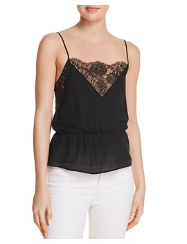 Ysabel Silk Camisole Top by Anine Bing