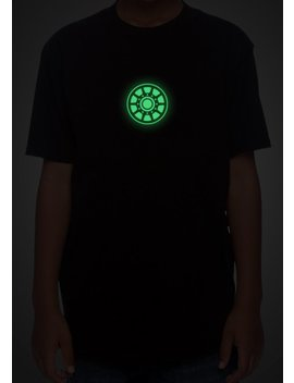 Glow In The Dark Arc Reactor Youth T Shirt (Xs   Xl) by Eck Designs