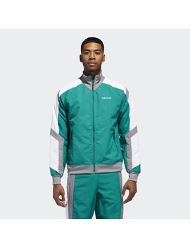 Eqt Block Windbreaker Jacket by Adidas