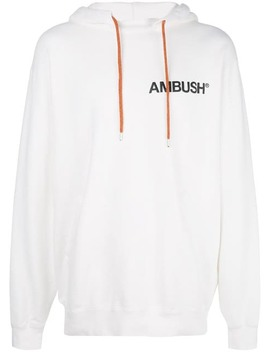 Ambushlogo Print Hoodie Home Men Ambush Clothing Hoodies by Ambush