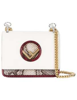 Snake Embossed Kan I F Bag by Fendi