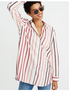 Oversized Ex Boyfriend Shirt In Lorelei Stripe by Madewell