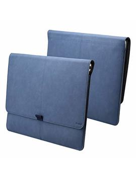 Vanctec Microsoft Surface Pro 3 Sleeve, Microsoft Surface Pro 4 Sleeve, Surface Pro 3 / Pro 4 Sleeve Bag Pouch, 12.3 Inch Pu Leather Tablet Carrying Cases Covers With Credit Card Slot, Blue by Vanctec