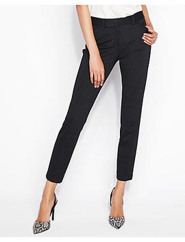 Mid Rise Pin Dot Skinny Pant by Express