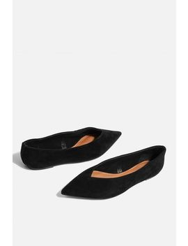 Attitude Soft Ballerina Pumps by Topshop
