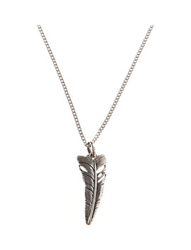 Life Feather Pendant by Seven Jewellery