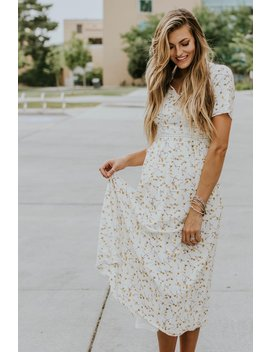 Avalon Floral Midi by Roolee