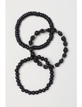 Set Van 3 Elastische Armbanden by H&M