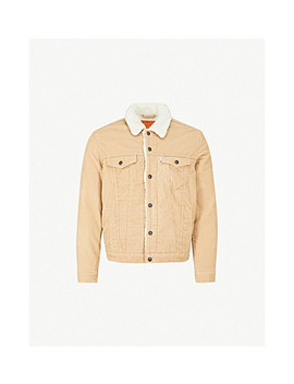 Type Iii Sherpa Trucker Corduroy Jacket by Levi's
