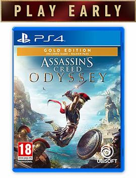 Assassins Creed Odyssey Gold Edition (Ps4) by Ubisoft