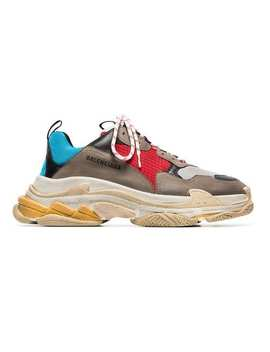 Balenciagamulticoloured Triple S Sneaker Home Men Balenciaga Shoes Low Tops by Balenciaga