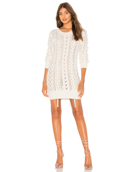 Lace Up Sweater Dress by Lovers + Friends
