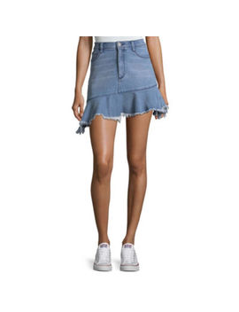 Arizona Asymetrical Denim Skirt Juniors by Arizona
