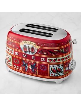 Smeg Dolce & Gabbana 2 Slice Toaster by Williams   Sonoma
