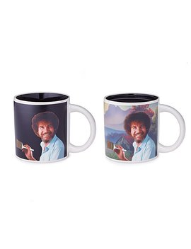 Paint With Bob Ross Mug by Uncommon Goods