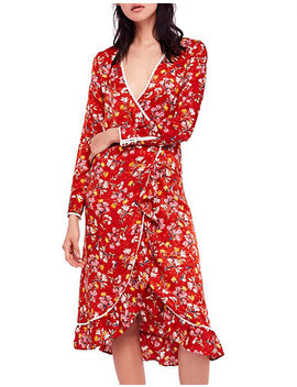 Covent Garden Wrap Midi Dress by Free People