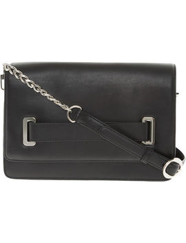 Black Leather Cross Body Bag by Oh By Kopenhagen