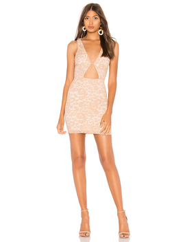 Trixie Lace Cut Out Mini Dress by By The Way.