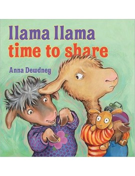 llama-llama,-time-to-share-(hardcover)-by-anna-dewdney by target