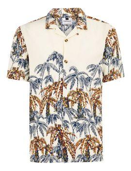 Palm Print Short Sleeve Shirt by Topman